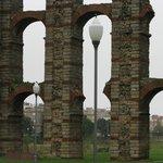 Arcos de granito y ladrillos
