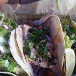 Gringo, Chilli rubbed Shrimp and Grilled Steak Tacos