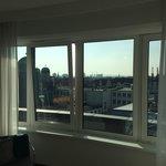 Die Aussicht aus Zimmer 805