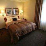 Separate Bedroom Queen Bed with Recliner