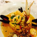 Food from the La Tuscana Restaurant