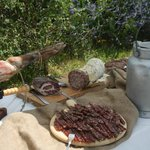 Buffet di salumi al coltello - Catering