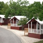 Three of our Pecos Deluxe cottages