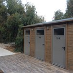 New beach toilet block, with disabled access.