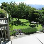 Deck, garden, mountains and spa (still covered)