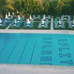 Split Splash Pool tiling
