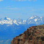 July 2014 - View of Tetons from Sleeping Indian Nose Hike