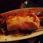 Burrito navegando en su aceite