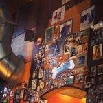 Bar room wall