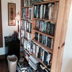 All the books you could ever need, and games to play with other guest!