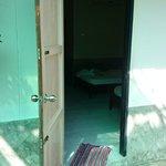 The door of my room...