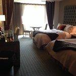 room on 2nd floor, two queen beds