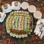 Small platter $50