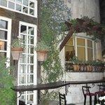 Bonita Inn beautiful courtyard