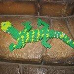 Lego gecko