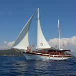 great sailing 12 islands on the gulet Günay 1