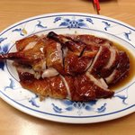 1/2 roasted  duck