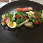 Lobster salad with Marie Rose sauce