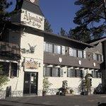 Aussenansicht der Alpenhof Lodge