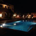 Abelonas village night