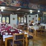 Bhutan Jakar hotel Wangdicholing ristorante