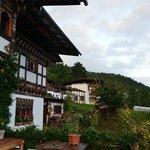 Bhutan Jakar hotel Wangdicholing terrazza