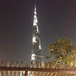 A view from this place of burj khalifa