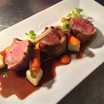 Gorgeous lamb dish from the Highworth menu