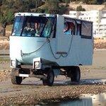 our vehicle to Elizabeth castle