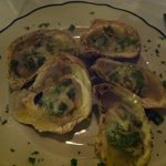 Baked Oysters, first course