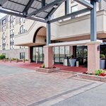 Entrance to the BEST WESTERN PLUS Toronto North York Hotel