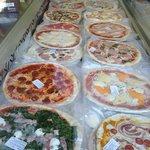 Pizzas precocinadas frescas envasadas al vacio