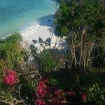 Blick vom Restaurant auf die Bucht