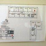 Floor Plan - Room 355 Red Dot