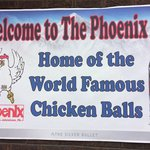Home base for chicken balls