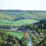 Midden de natuurwandelingen van Le Petit Suisse