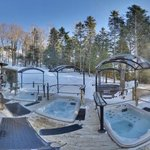 Spa hiver de jour