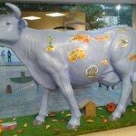 Mucca svizzera in reception