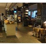 delightful contemporary cafe food shop