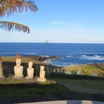 Pacific Ocean from Iorana Hotel Pool