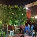 Beerr Garden @ night