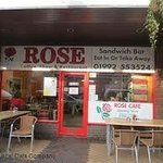 This is the real photo of Rose caffe