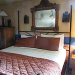The rooms were tastefully decorated with comfortable beds.
