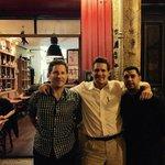 Guillaume, Jordan and me