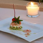 Mediterranean cuisine, based on the classic French cuisine.