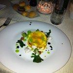 Lasagna con ripieno ai frutti di mare e verdure