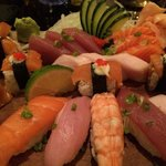 Monsoon sushi - flavorful - not frozen.