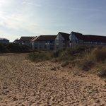 l'hotel au pied de la plage