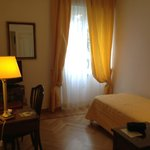 Una camera del albergo