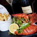 Enjoy fresh classic brasserie food